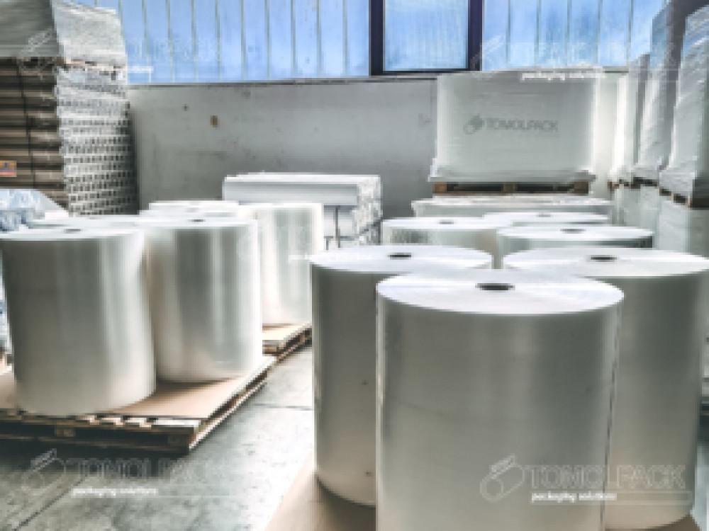 Rotoli di film plastico monopiega e multipiega fino a 8 metri