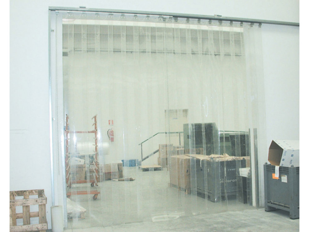 Porte flessibili a strisce in PVC trasparente