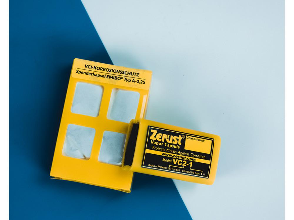 Capsule anticorrosive Emibo® VCI