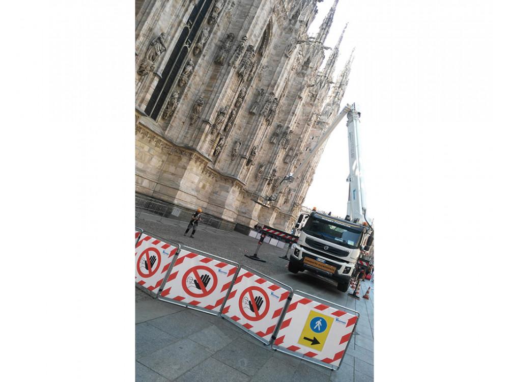 Barriere per delimitazione temporanea di cantiere