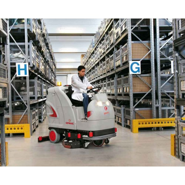 COMAC Ultra Ride On Scrubbing Machine For Deep Cleaning