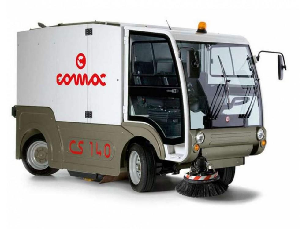 Spazzatrice stradale compatta COMAC CS140 T