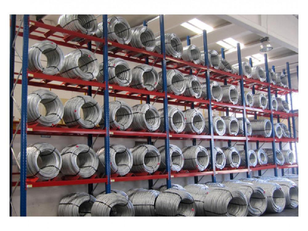 Magazzini a media-grande portata per coil, bobine e stampi