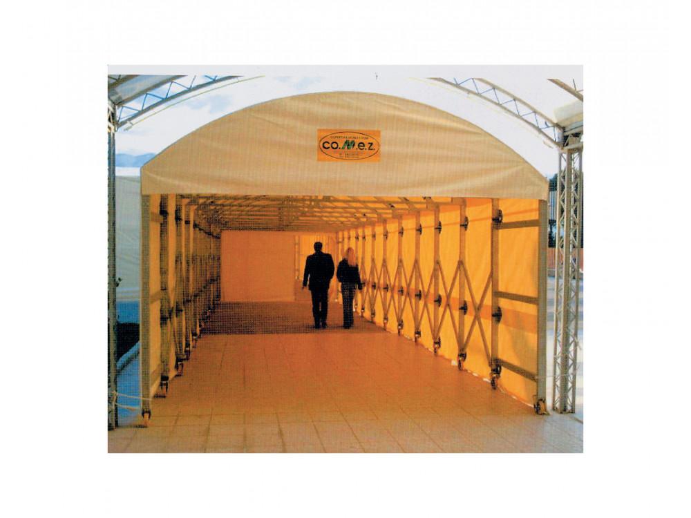 Tunnel ad arco per usi commerciali, agricoli e zootecnici