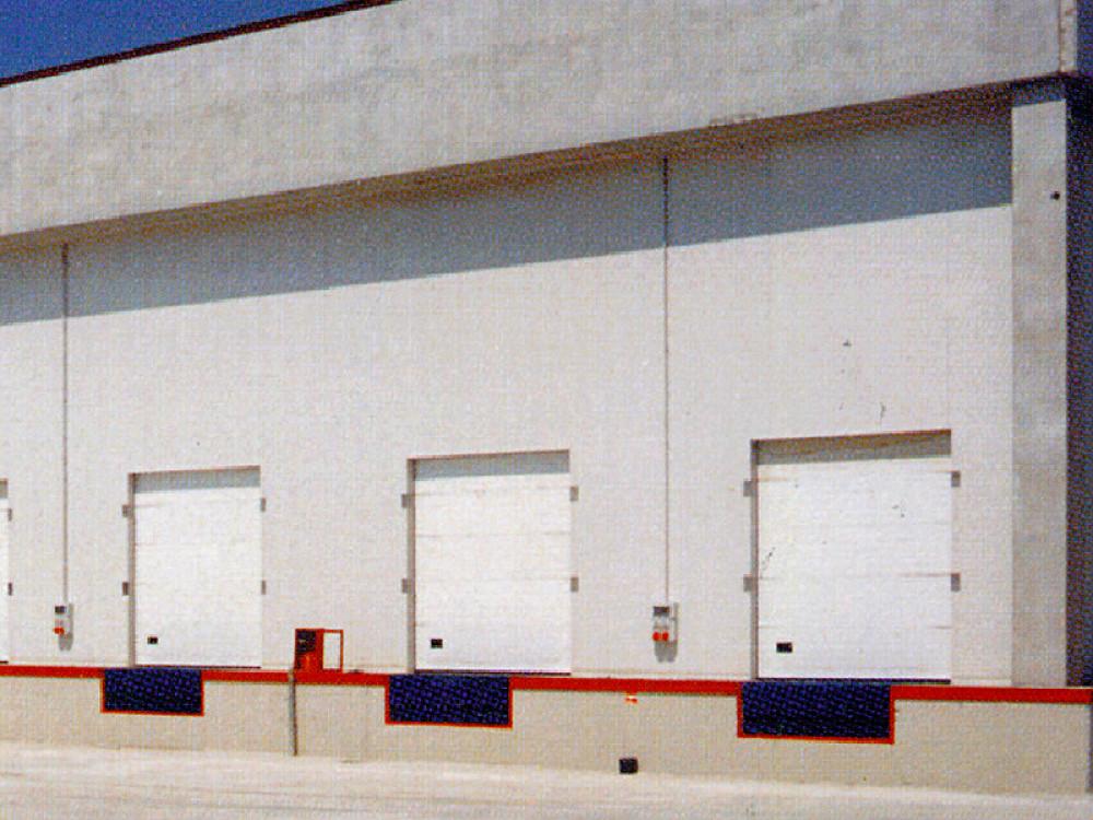 Porte sezionali Opensectional a elevata capacità isolante