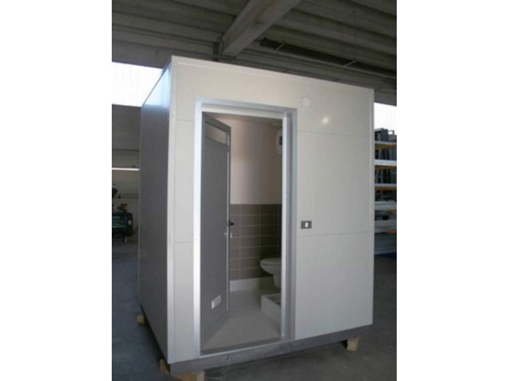 Box prefabbricato completo di servizi igienici