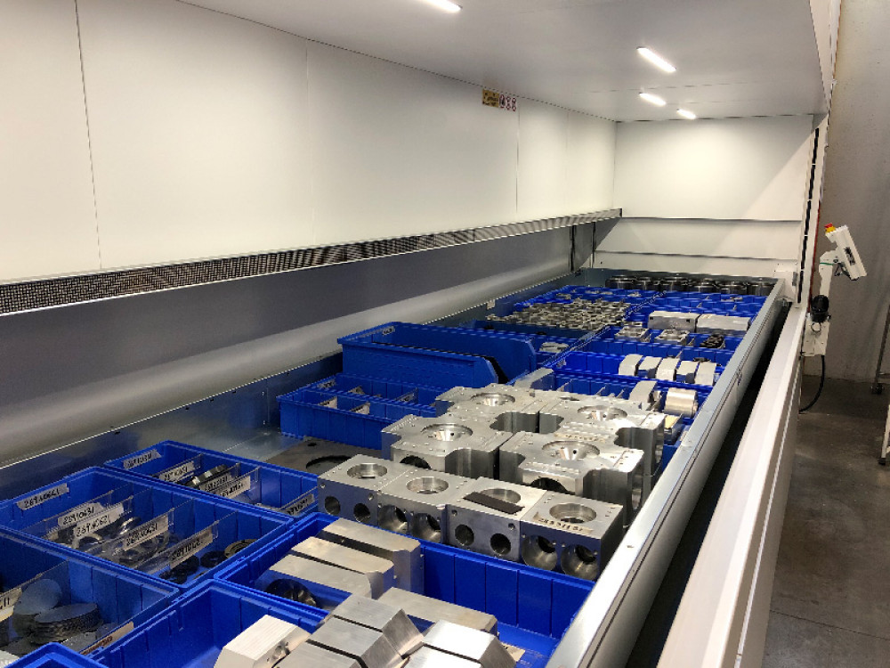 Vertimag: magazzino automatico verticale per scatole