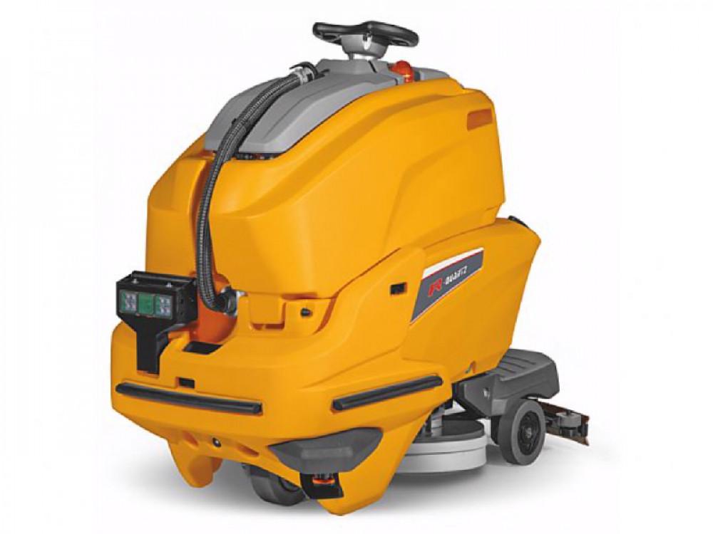 Lavasciuga pavimenti R-Quartz con guida automatica senza operatore