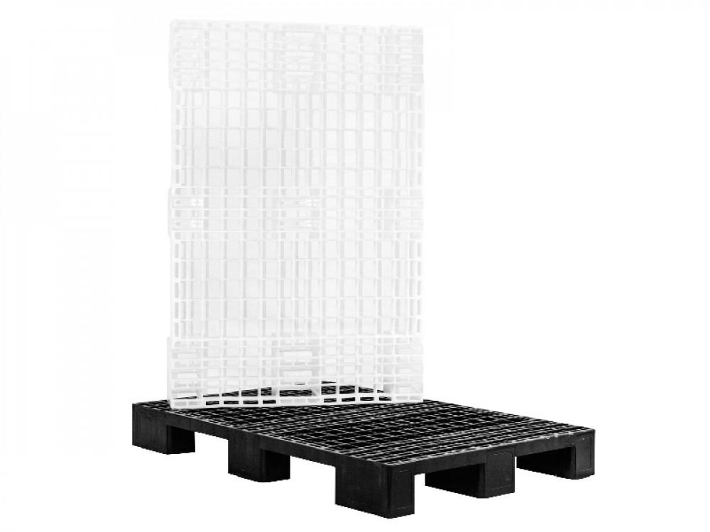 Pallet a 9 piedi in plastica HDPE per usi interni
