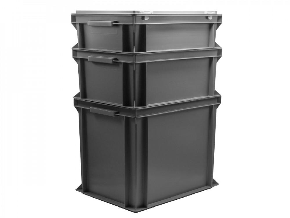 Contenitori modulari in plastica idonei misure EPAL