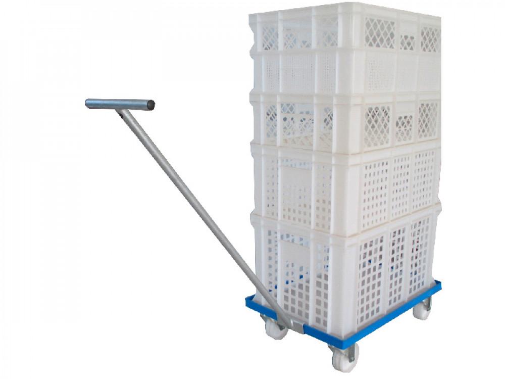 Carrelli con griglia stampati o su misura per contenitori modulari
