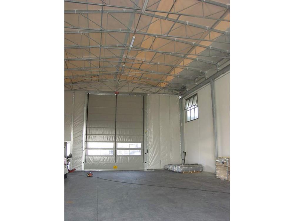 Capannone PVC e acciaio ad uso magazzino