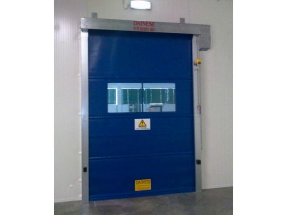 Porte industriali ad avvolgimento verticale