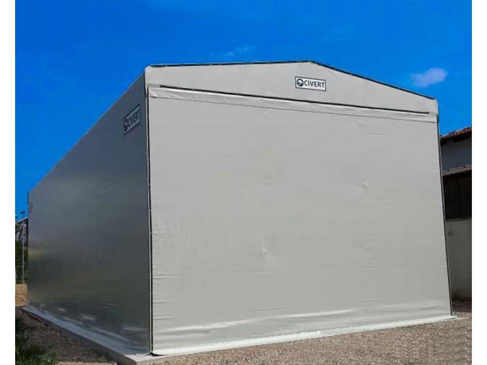 Tunnel mobili con rivestimento in PVC