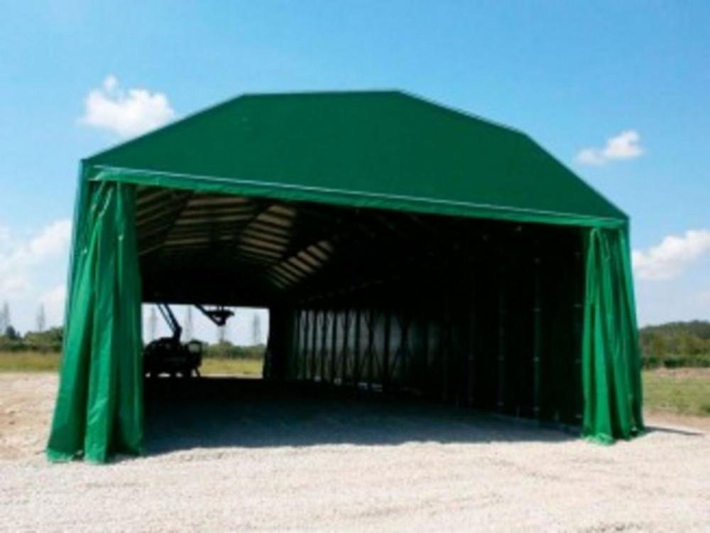 Tunnel mobile copri/scopri per area magazzino