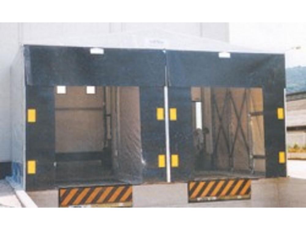 Portali isotermici per baie di carico