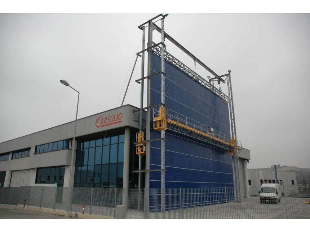 Grandi porte industriali Giant Door per rimessaggi e usi vari CAREGLIO