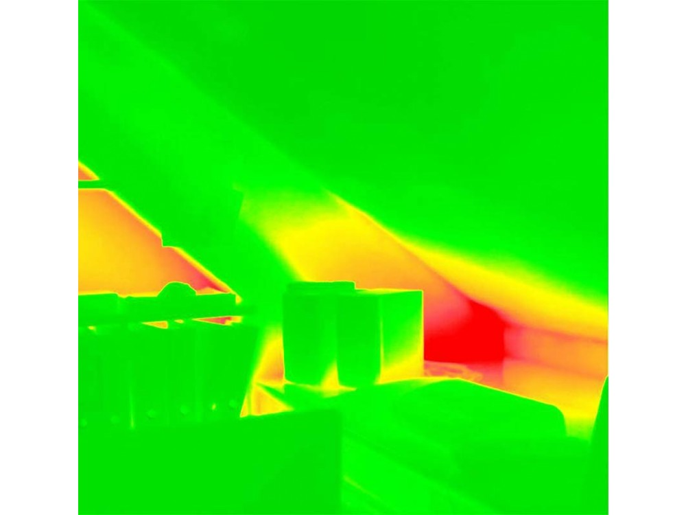 Indagini termografiche a infrarossi: termografia di un motore