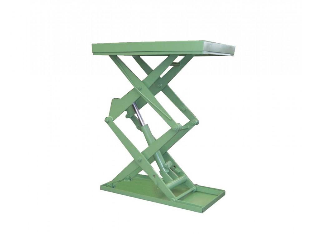 Piattaforma elevatrice a doppia forbice