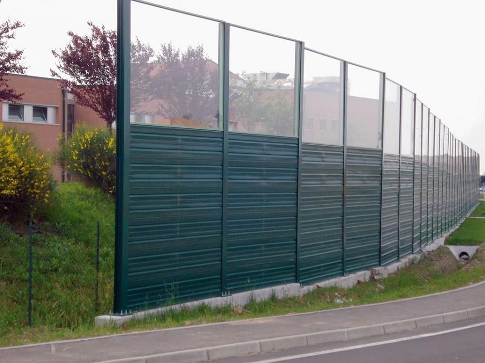Barriera fonoisolante e fonoassorbente