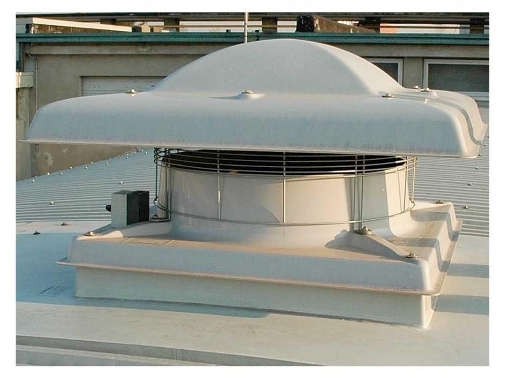 Immissore estrattore d'aria elicoidale Aerflux
