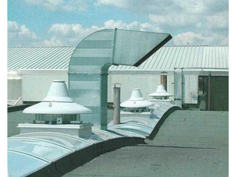Sistema per la ventilazione e illuminazione zenitale