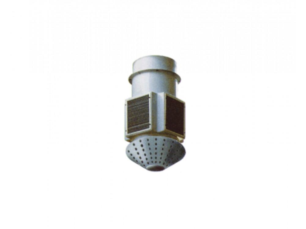 Ventilatore elicoidale con recupero di calore Overclimat E