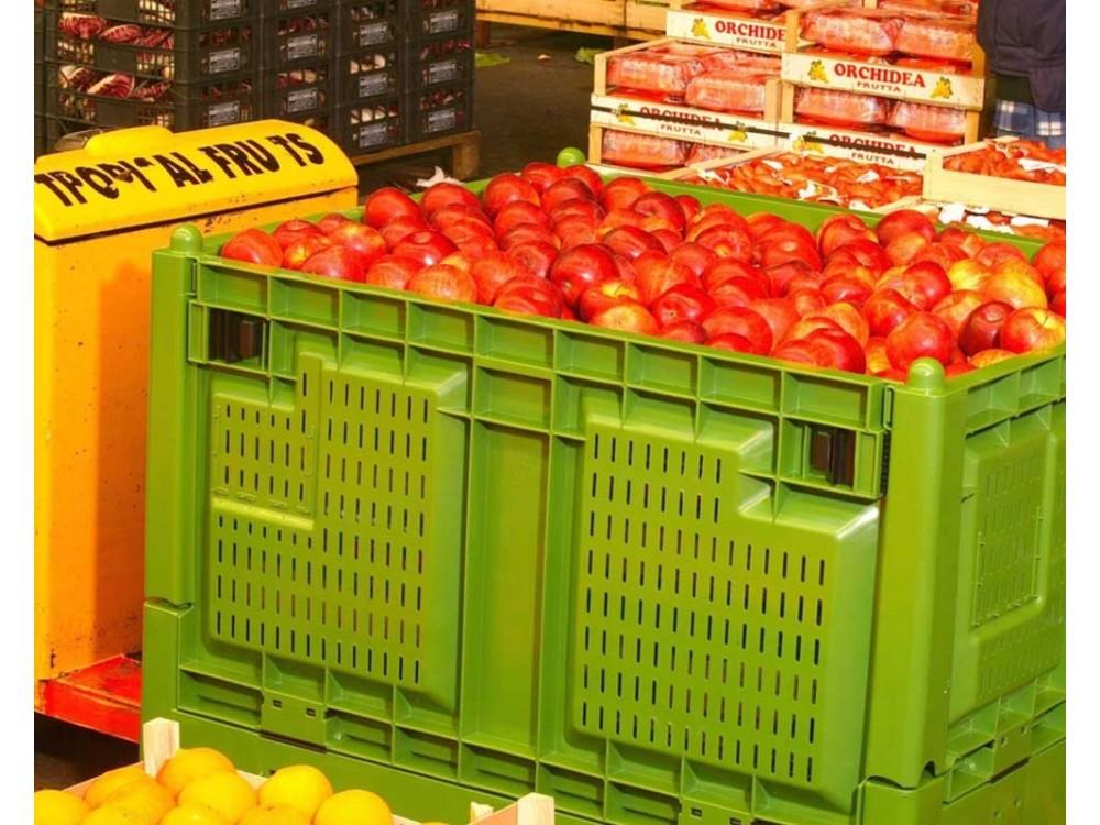 Contenitori in polietilene per il trasporto e stoccaggio di alimenti