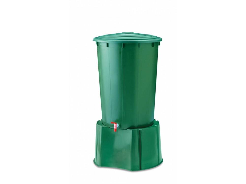 Bidoni in plastica per raccogliere acqua piovana
