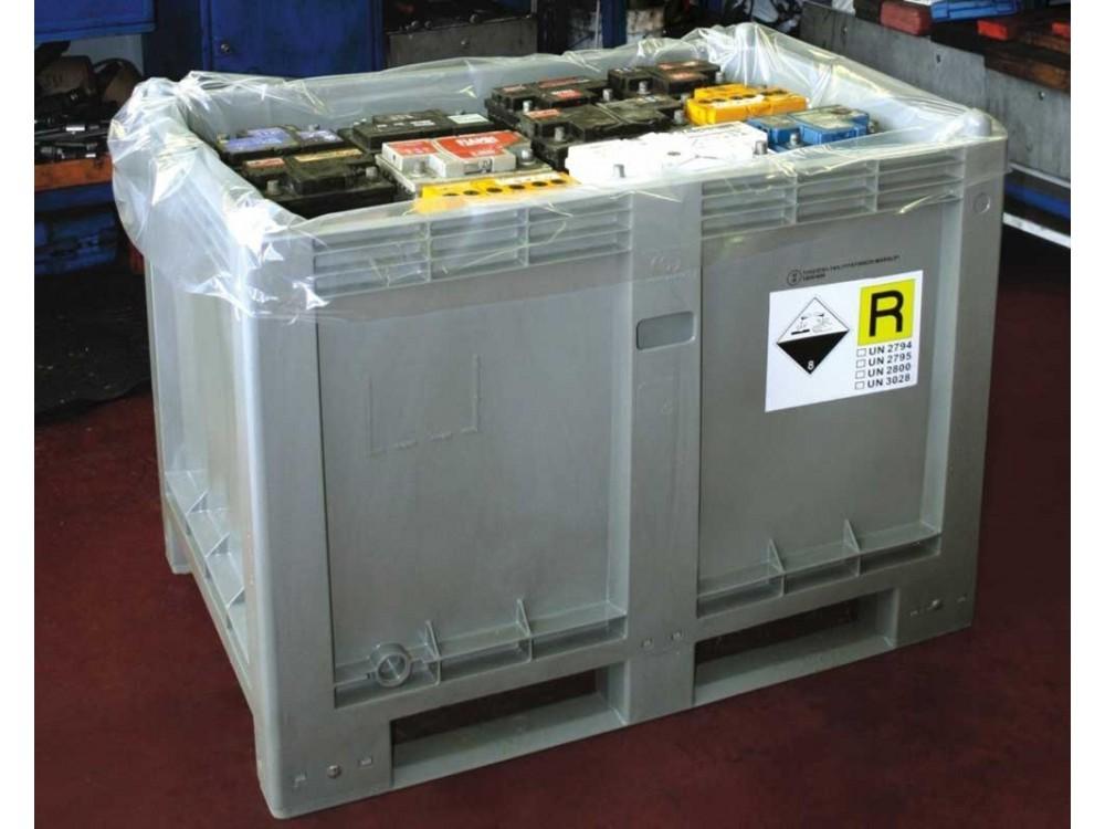 Contenitori ecologici per pile e batterie Cargopallet