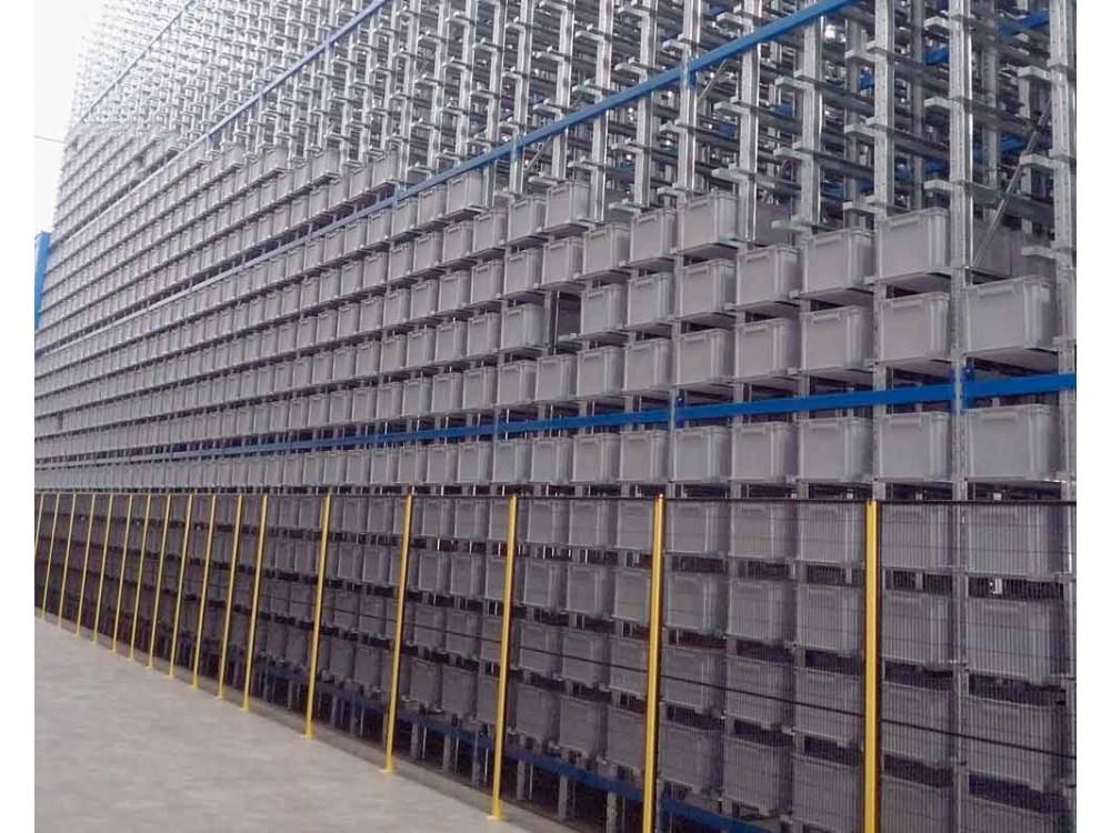 Sistemi componibili per magazzino Alfa, Delta e Delta Mec