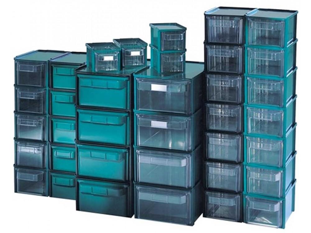 Sistemi componibili per officina in plastica Alfa e Rho Kappa