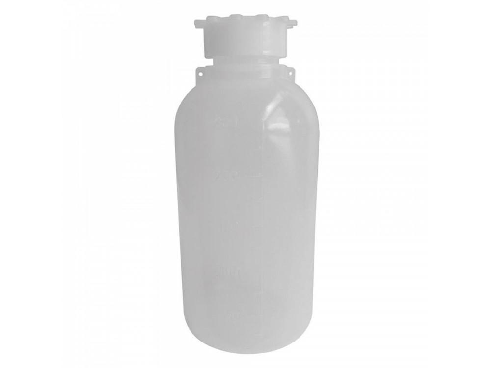 Bottiglie in polietilene (PE), con tappo a vite con sigillo