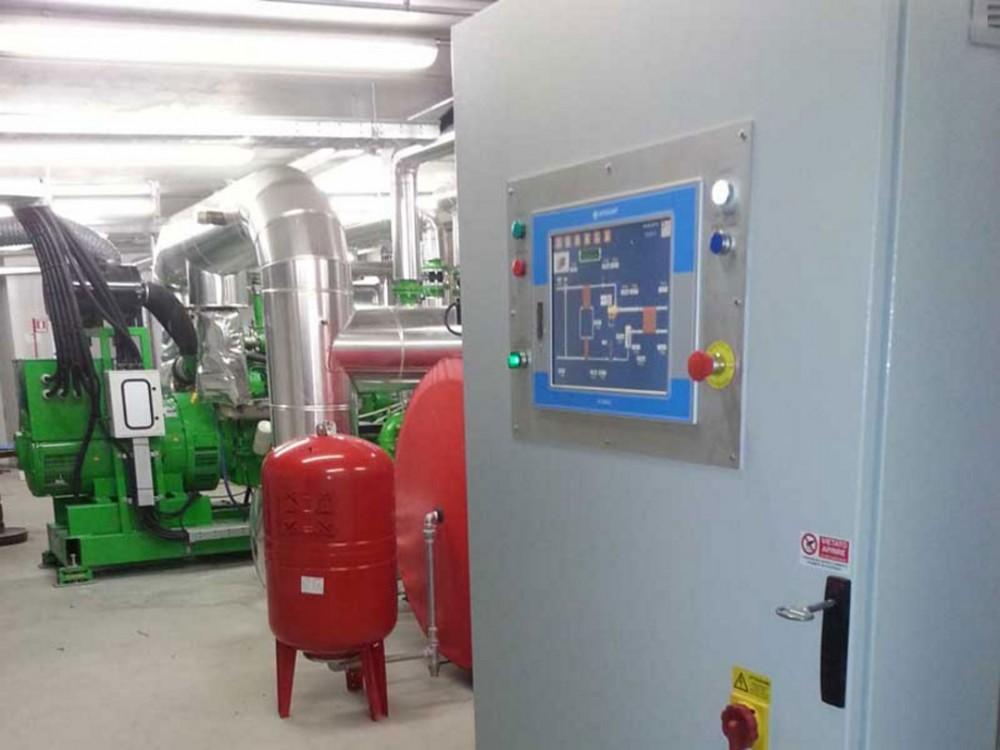 Recuperatore termico da olio installato a Morgex