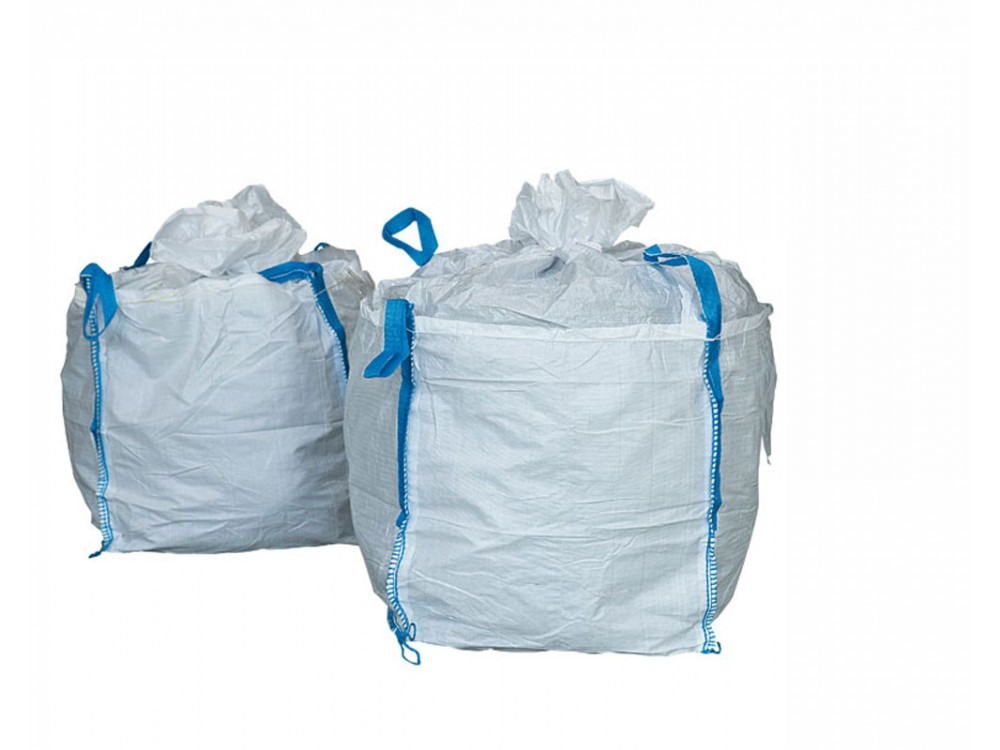 Saccone Big Bag in tessuto a 4 manici