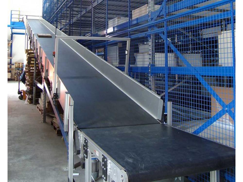 Terminale di trasportatore a nastro