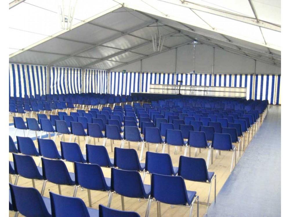 Tendostruttura allestita per evento aziendale