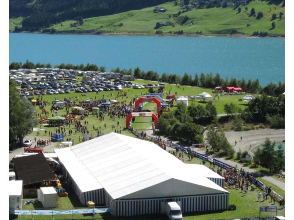 Copertura gigante per expo e manifestazioni fieristiche