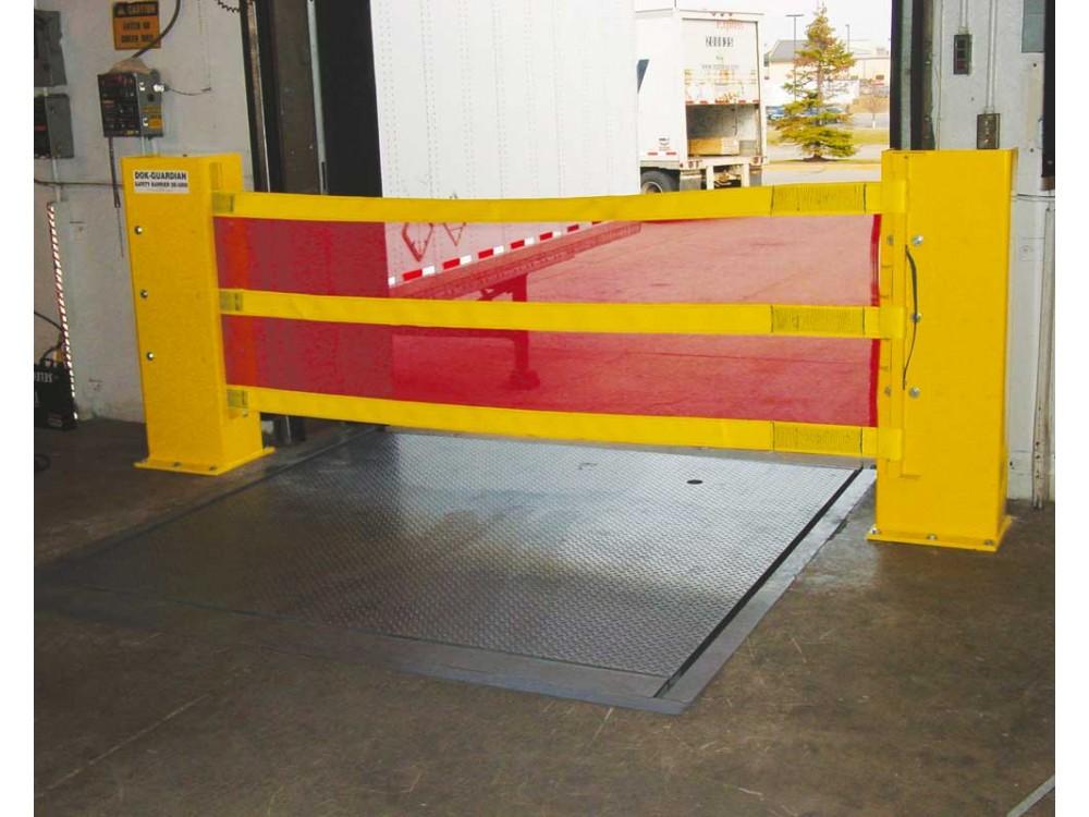 Barriera di sicurezza ad alta resistenza per baie di carico