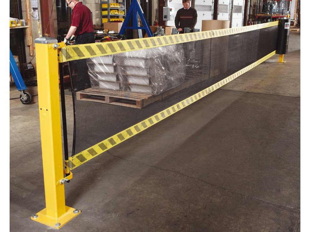 Barriere di sicurezza per gli impianti SpanGuard Mesh